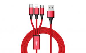 Cablu date si incarcare 3 in 1