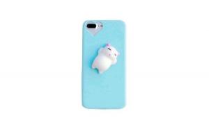 Husa Iberry Cat Albastru Pentru Iphone 7