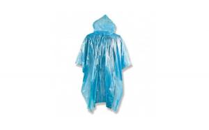 Pelerina de ploaie impermeabila cu gluga, marime universala, albastru