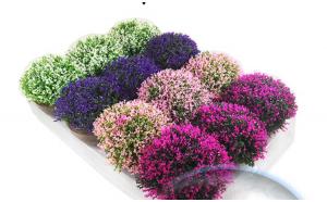 Floare decorativa artificiala in ghiveci