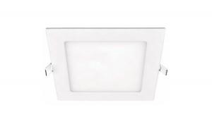 Spot LED 24W, patrat, slim, lumina calda