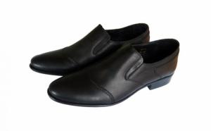 Pantofi barbati - din piele naturala, Incaltaminte piele