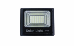Proiector 200W cu 400 LED-uri + Panou Solar, usor de instalat, calitate superioara