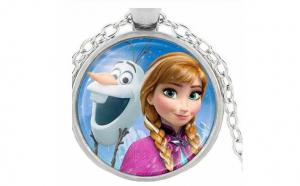 Pandantiv Elsa si Olaf - Frozen
