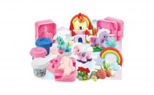 Set plastilina multicolora cu ponei