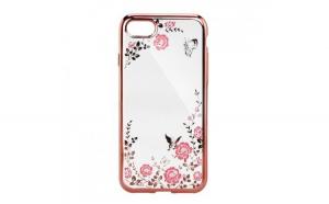 Husa Diamond iPhone XS Max, Rose/Auriu