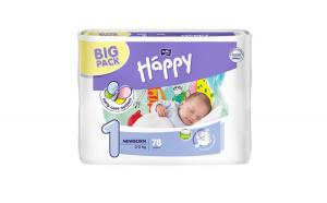 Scutece Happy Big Pack Newborn pentru