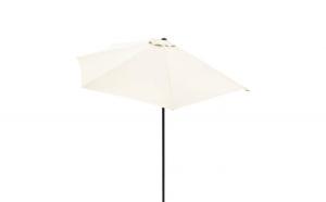 Umbrela soare terasa Semicirculara Crem