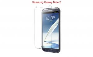 Folie sticla securizata Samsung Galaxy Note 2 Transparenta