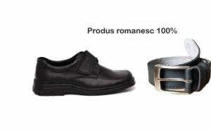 Pantofi din piele +curea