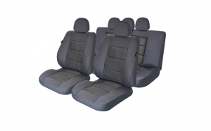 Huse scaune auto compatibile LAND ROVER Freelander I (4 usi) 1997-2006 PLUX (Gri UMB1)