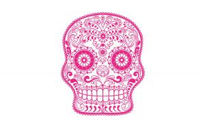 Sticker decorativ, Skull, 78 cm, 216STK-16