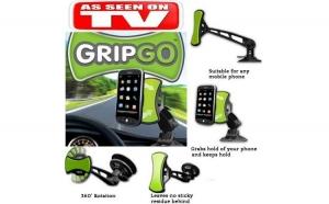 Set 2 suporturi auto pentru telefon Grip Go