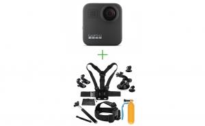GoPro Hero MAX 360 + MINI Pachet de Accesorii