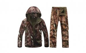 Costum impermeabil camuflaj vanatoare