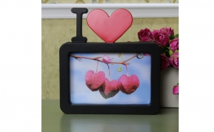 Rama foto I Love You, Dragobete, Decoratiuni