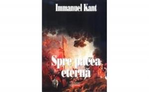 Spre pacea eterna, autor Immanuel Kant