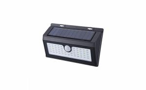 Lampa LED solara 2638A cu senzor de miscare si 55 de LED-uri