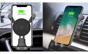 Incarcator auto wireless 2 in 1
