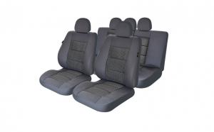 Huse scaune auto compatibile LAND ROVER Freelander II (4 usi) 2006-2014 PLUX (Gri UMB1)