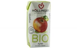 Suc de mere Bio cu pai Hollinger, 200ml HOLLINGER