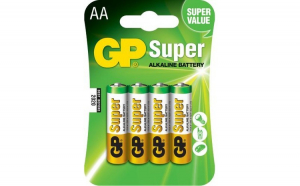 Baterie Alcalina Super GP R3 (AAA), 4 buc  blister