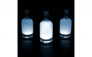 Decoratie autocolanta cu LED pt. sticlă