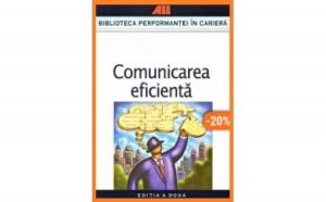 Comunicarea eficienta, autor Sburlescu Aurelian