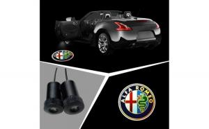 Proiectoare Portiere cu Logo Alfa Romeo
