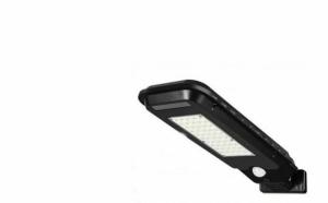 Lampa solara T-210B, senzor de miscare, rezistenta la apa, Negru