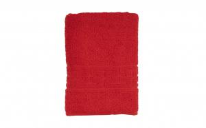 Prosop baie 70 x 130cm, culoare rosu
