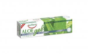 Gel pentru albirea dintilor, EQUILIBRA SBIANCANTE, cu 30% Aloe Vera, tub 75 ml