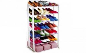 Raft de incaltaminte cu spatiu pentru 21 de perechi pantofi, la 49 RON in loc de 99 RON! Garantie 12 luni!