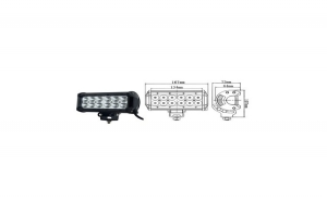 Proiector LED ART718 -  36W COMBO -  12/24V