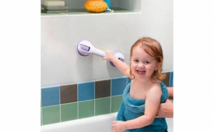 Maner ajutator cu ventuza pentru baie