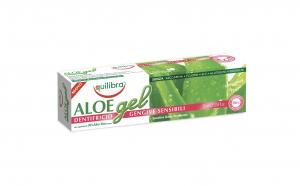 Gel pentru albirea dintilor, EQUILIBRA SENSIBILI, cu 30% Aloe Vera, tub 75 ml