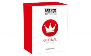 Prezervative Secura Original Red , 100