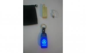 Breloc Mercedes premium cu led + 3 functii