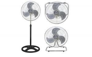 Ventilator de Camera Cromat cu Picior VI