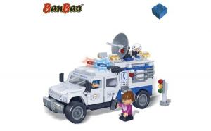 Camion de politie BanBao 290 de piese