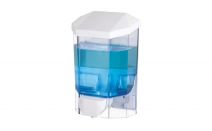 Dispenser pentru sapun lichid si dezinfectant gel, Flosoft, 500 ml