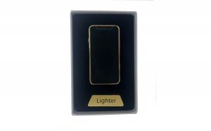 Bricheta electrica cu incarcare USB, cablu inclus, anti-vant, culoare