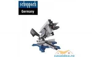 Fierastrau circular culisant HM100T 1600 W  254mm   Scheppach 5901103901