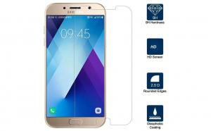Folie sticla securizata Samsung Galaxy A7 2017 Transparenta