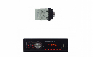 Radio MP3 Player auto Compact, cu Bluetooth si telecomanda