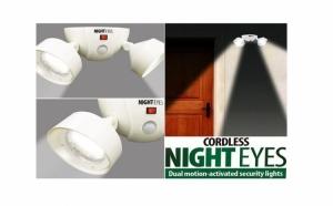 Set becuri LED pivotante cu senzor Night Eyes, la 55 RON