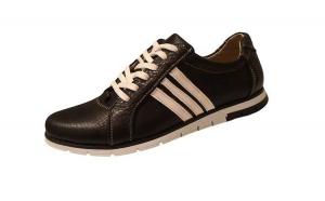 Mentin temperatura optima a picioarelor: Adidasi Confort, din piele naturala 100%