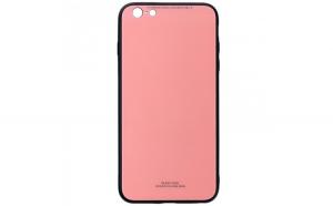 Husa Glass Case - Apple iPhone 6 / 6s, Roz
