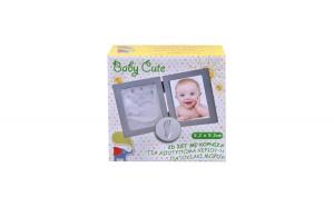 Rama foto cu amprentare bebelusi 2D Baby Cute
