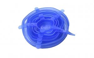 Set 6 capace elastice din silicon